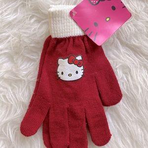 LIMITED EDITION Hello kitty sanrio cotton gloves